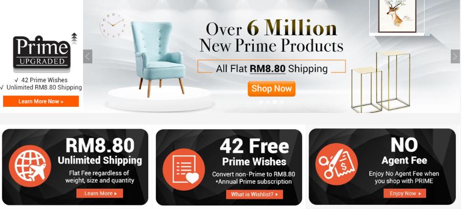 kempen ezbuy, ezbuy 12.12, year end sale, prime membership, ahli prime, ezbuy malaysia, kos penghantaran murah,