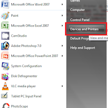 Cara Setting Default Printer di Windows 7