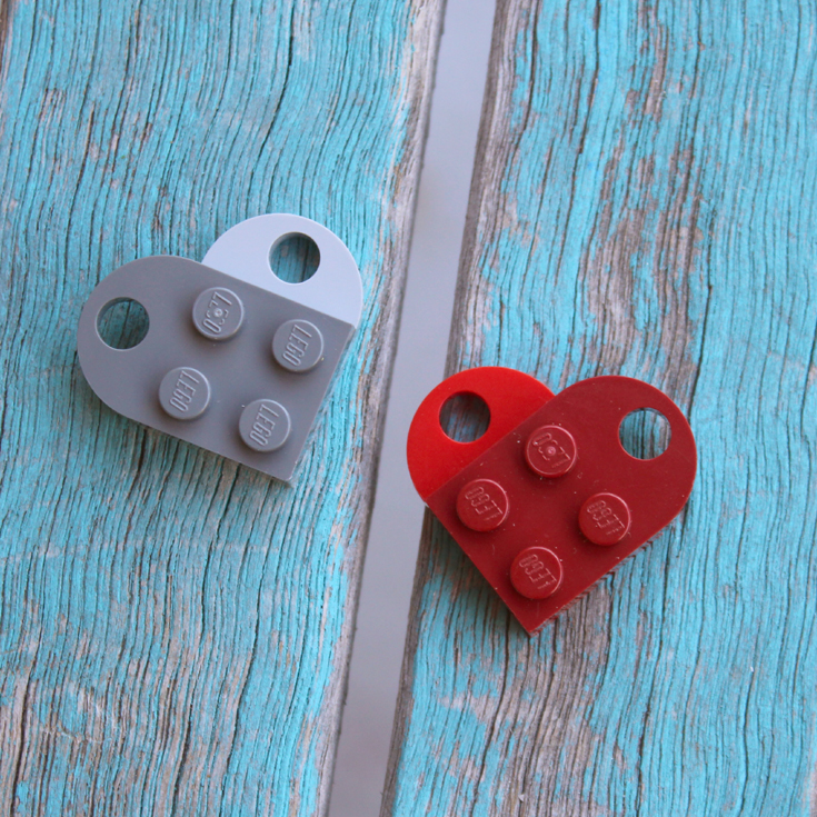 Lego Heart Best Friends Bff Necklace Diy