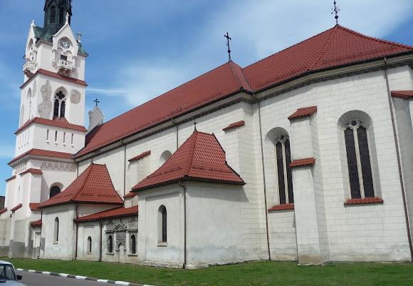 Стрий. Костел Успіння Пресвятої Діви Марії. 15 століття