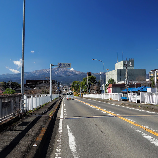 酒匂川 新十文字橋 開成町