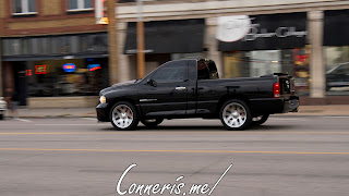Draggin Douglas Black Dodge RAM SRT10