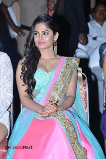 Actress Naina Ganguly Stills in Long Dress at Vangaveeti Audio Launch  0071.JPG