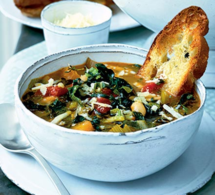 Nutrient Chunky Minestrone Soup