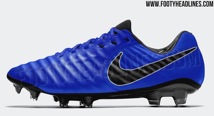 f1bc46e4d Exclusive: Striking Blue / Black / Silver Nike Tiempo Legend VII 2018 ...
