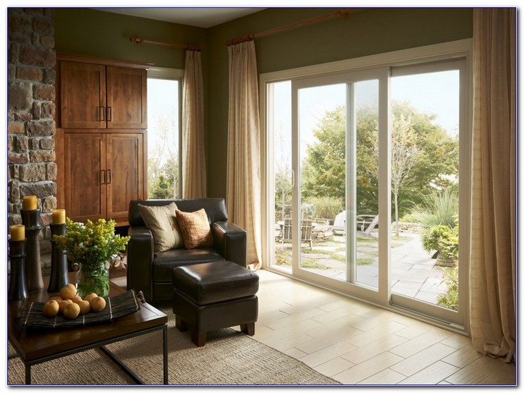 Sliding Glass Door Window Treatment Ideas Home And Car Window
