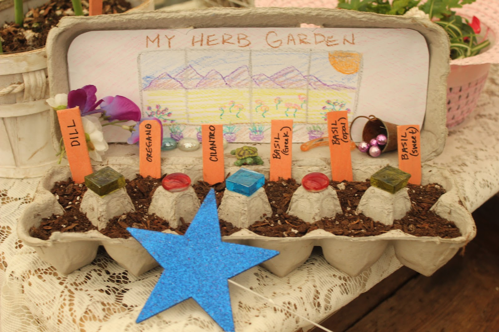 Herb Garden For Kids