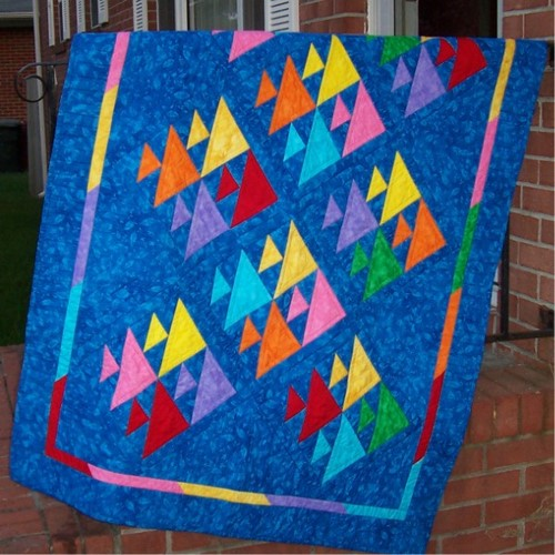 Fish Quilt Free Pattern