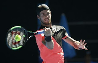 Khachanov outplays Berdych to reach Marseille final