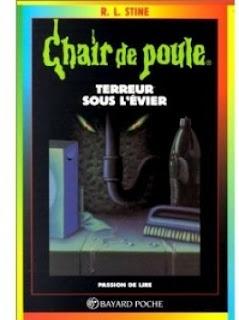 Couverture du livre Chair de Poule Terreur sous l'évier