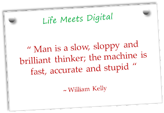 man vs computer - a quote by william kelly