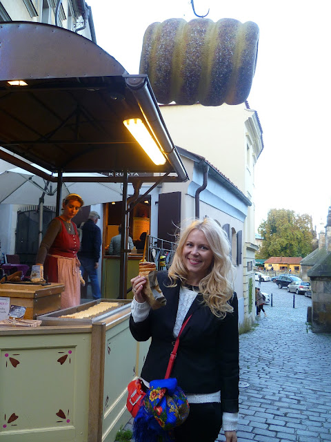 Трдельник в Праге (Trdelnik in Prague)