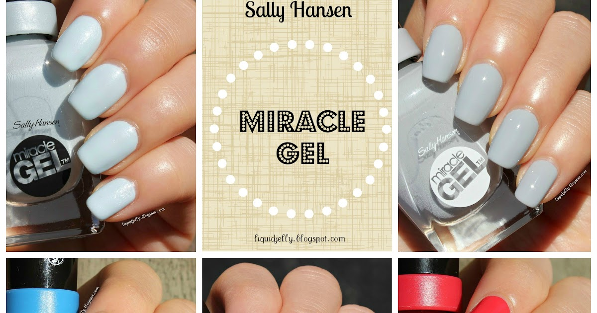 Liquid Jelly: [Review+Swatch] Sally Hansen Miracle Gel Color