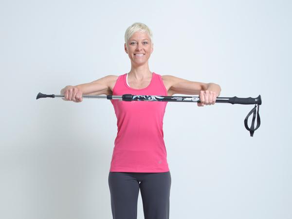 Renforcement musculaire avec Bâton Bungy Pump