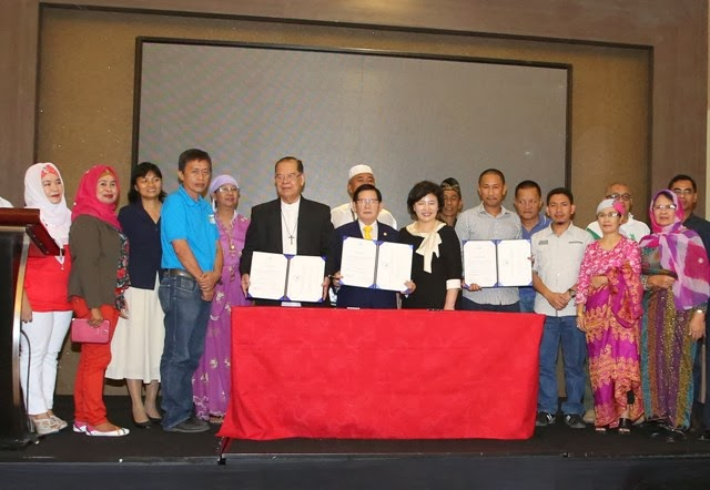 Peacewalk Agreement in Mindanao 2014
