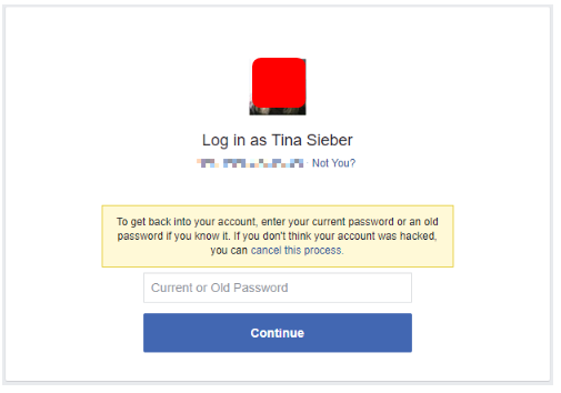 Facebook Login Problems