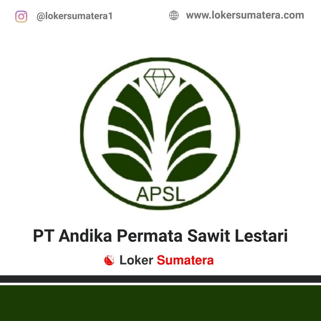 Lowongan Kerja Pekanbaru: PT Andika Permata Sawit Lestari (APSL) Oktober 2020