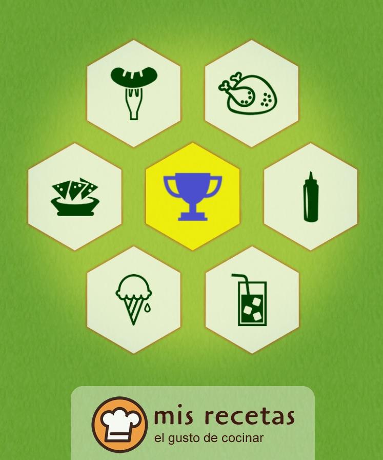 App Recetas para el mundial en Google Play