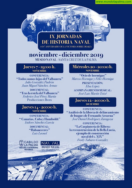 IX Jornadas de La Historia Naval en Santa Cruz de La Palma