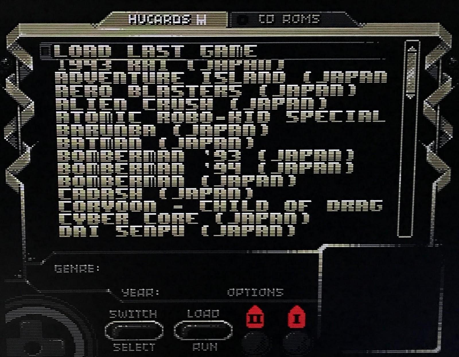Retro Gamer Randomness: Review: Super SD System 3 for PC Engine