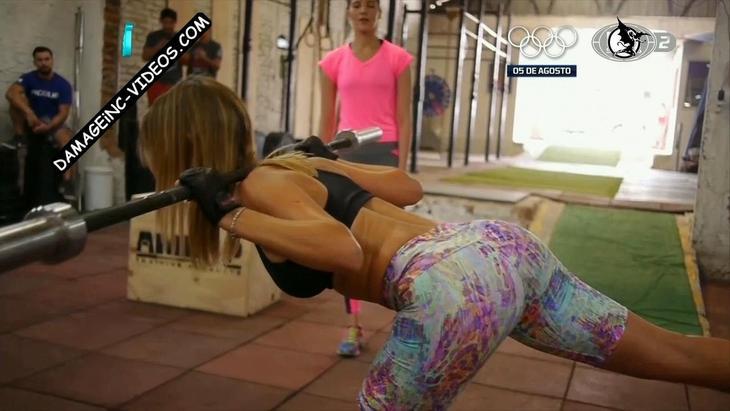 Lucila Vit fitness booty in leggings damageinc videos HD