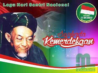 Syuhada Kemerdekaan menjadi salah satu lagu dalam Hari Santri Nasional yang diperingati se Lagu Hari Santri Nasional Syuhada Kemerdekaan (Lirik Video, MP3)