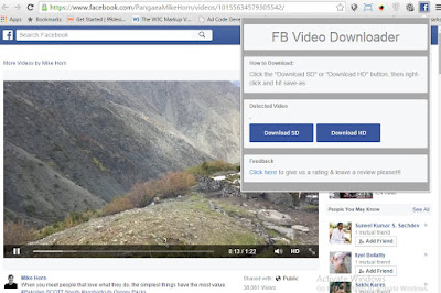 facebook extension for chrome
