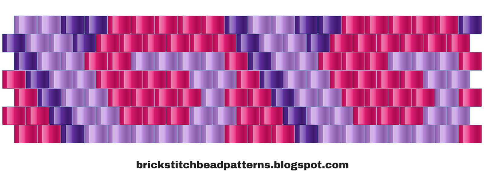 Brick Stitch Bead Patterns Journal 12 Free Brick Stitch