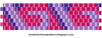 Free Brick Stitch Bead Pattern 12 Download