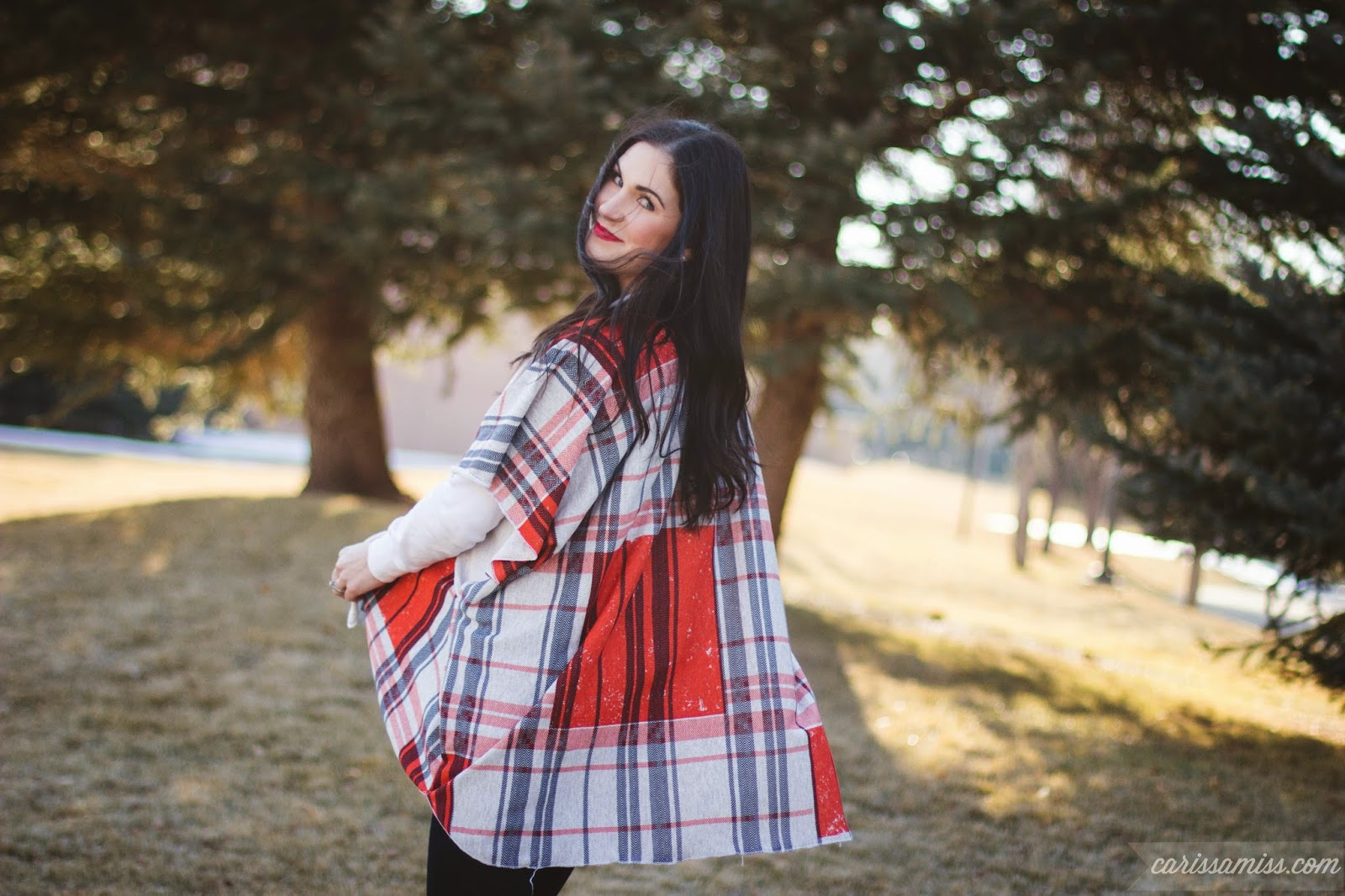 Carissa Miss: Make a Poncho Sweater in 10 minutes or less