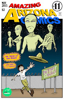 Amazing Arizona Comics minicomics mini-comics zines Sam Brero aliens