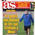 Así vienen las portadas de la prensa deportiva del viernes 15 de diciembre de 2017