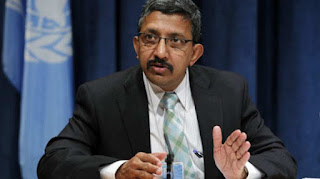 Chandramouli Ramanathan Appointed by UN as Controller & ASG