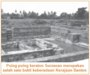 Bangunan Peninggalan keraton Surosowan Banten