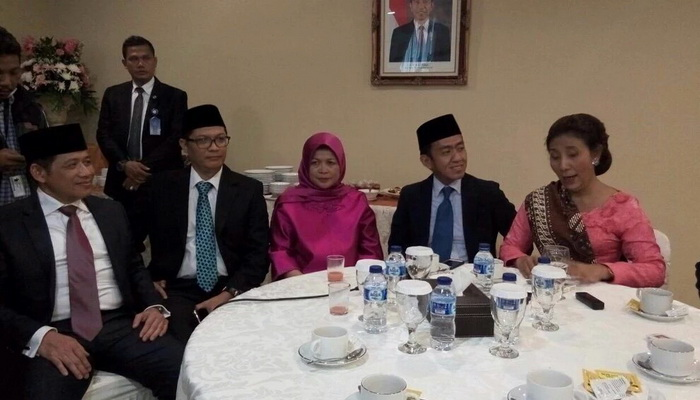 Menteri Susi Lantik Empat Pejabat Eselon Satu