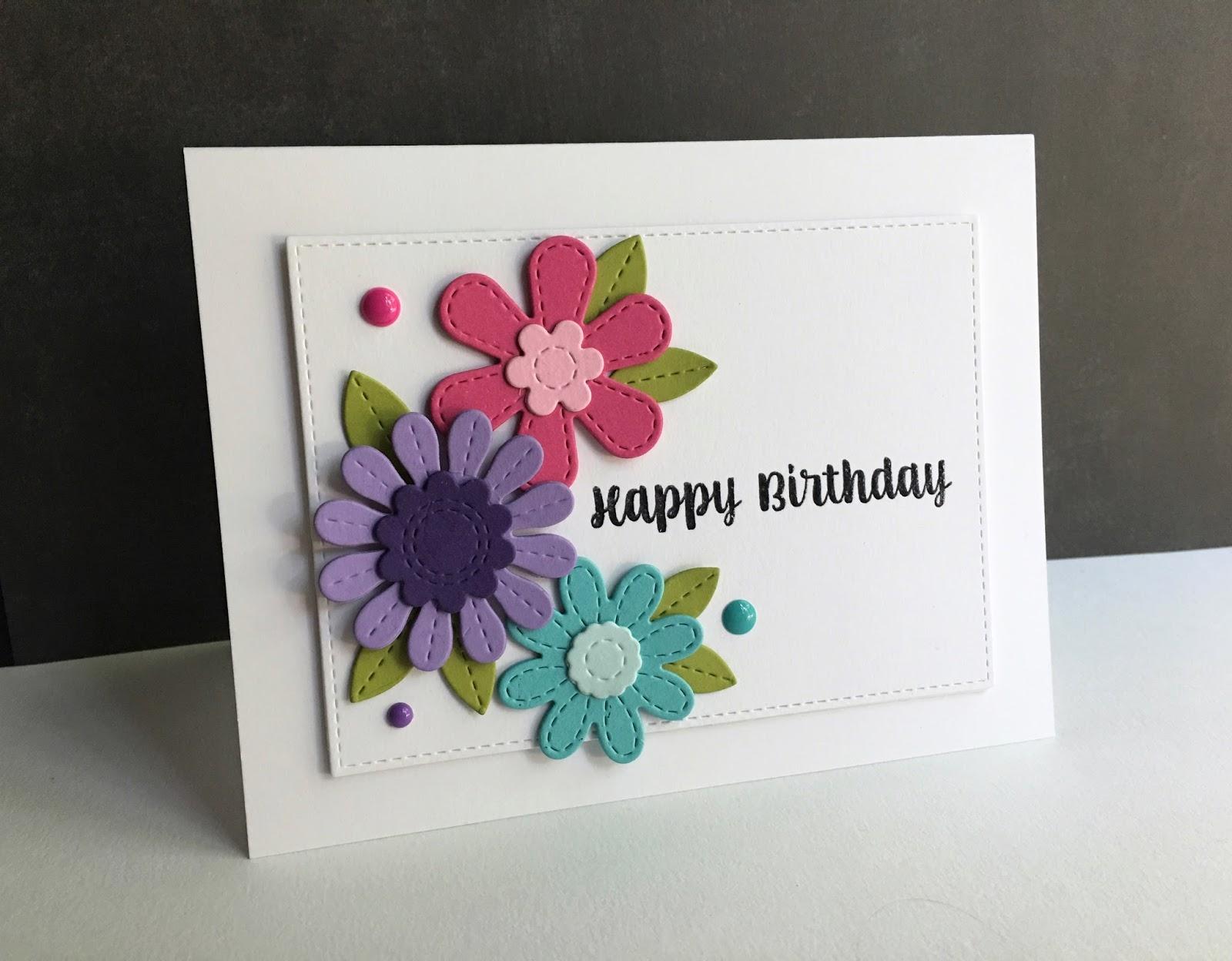 Im In Haven Happy Birthday Flowers