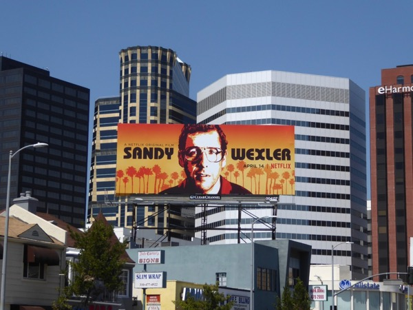 Sandy Wexler Netflix film billboard