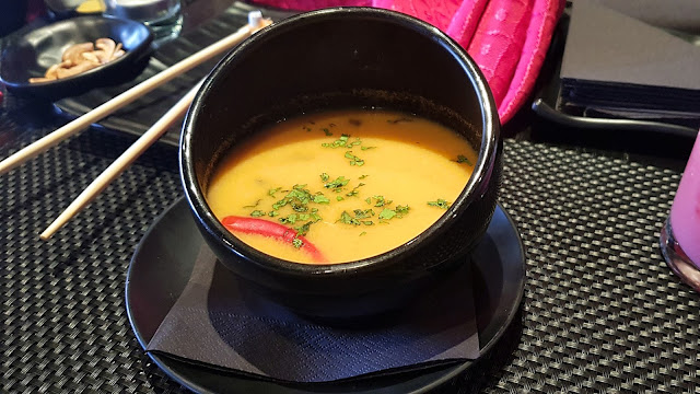Tom Yum Soup - OVO Bar