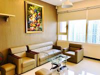 Cho thuê SGP tầng 32 tòa Topaz 2 - sofa tại phòng khách