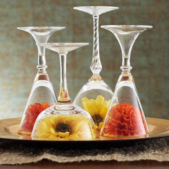 Ideas para centros de mesa para comedor for Mesas ovaladas para comedor