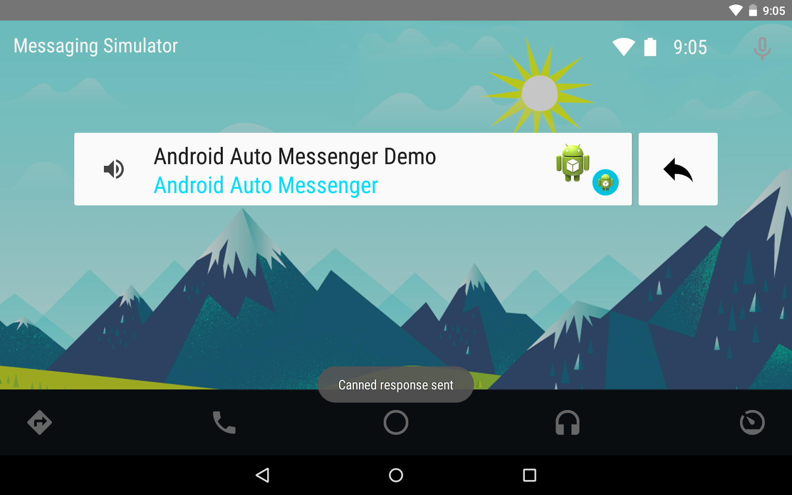 PTR Android/Programming Blog: Sending Messages to Android Auto