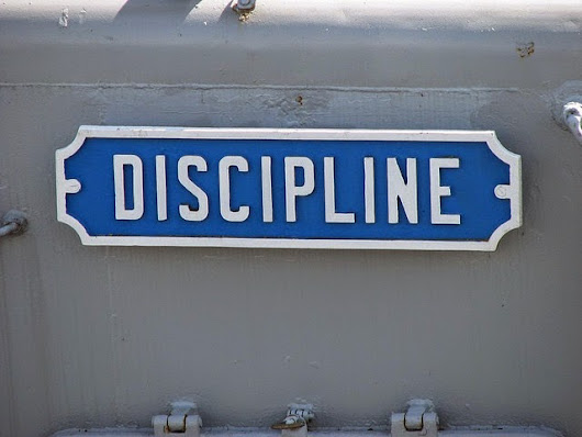 Discipline - Keeping Your Promises