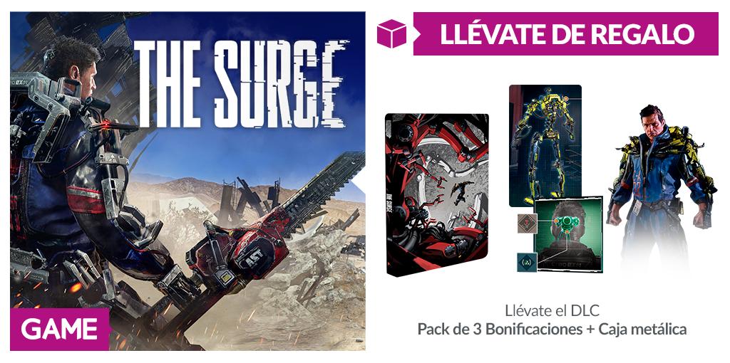 GAME nos hace grandes regalos por comprar The Surge