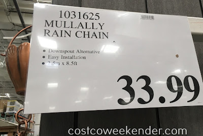 Deal for the Mullally Rain Chain at Costco
