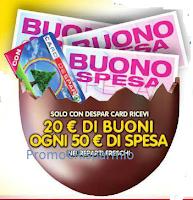 Logo Ricevi 20 euro di buoni spesa con i prodotti freschi