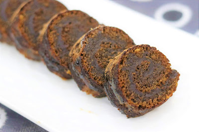 chocolate Rolls, Eggless Swiss Roll