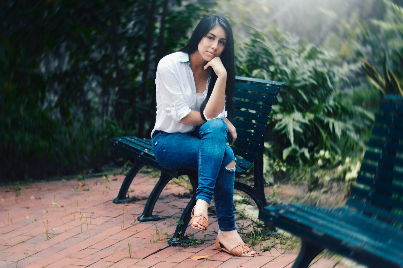 silvia-armas-white-out-blusa-denim-casual-tumblr-girl-top-style-fashion-blogger-ecuador