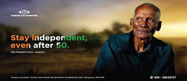 Celebrating the spirit of senior citizen- Get freedom from cataract
