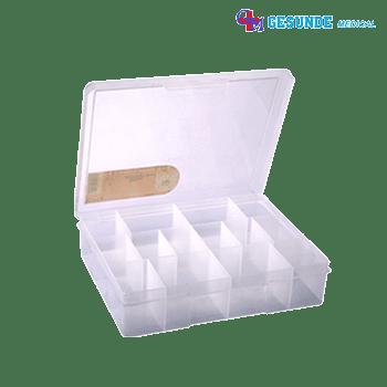 Kotak Perkakas Dengan Variasi Jumlah Sekat