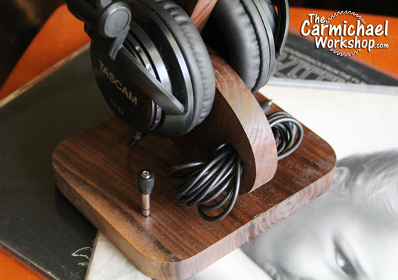 Headphone Stand by The Carmichael Workshop